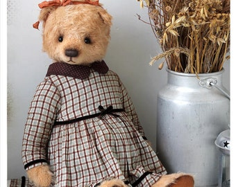 Teddy bear Natasha bears 48 cm OOAK