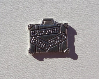 15mm*10mm Suitcase charms, 5CT, Y17