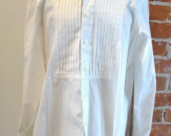 Vintage Polo Ralph Lauren Tuxedo Shirt Size 16 1/2/ 42