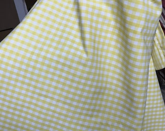 Wide Yellow and White Nursing Cover