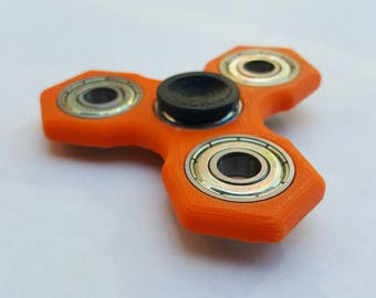 3D Printed Hex Spinner EDC Fidget Toy - Many Colors Available!