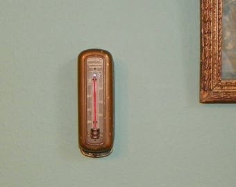 Antique Vintage Honeywell NOCOAL NOKOL Automatic Heating Thermostat thermometer automatic heat regulator