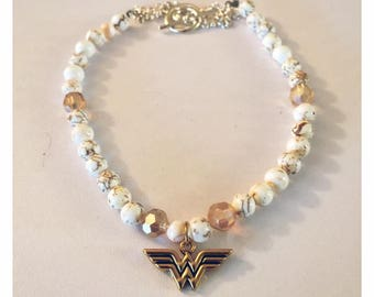 Wonder Woman necklace for kids