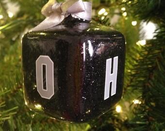 OHIO Christmas ornament O-H-I-O