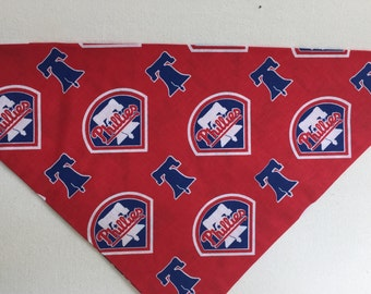 Phillies Baseball Tie On Doggie Bandana