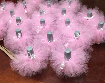 10 TUTUS 12.50 & FREE domestic Shipping / Glitter tulle/ Regular Tulle/ color of your choice, Excelent for any event favors