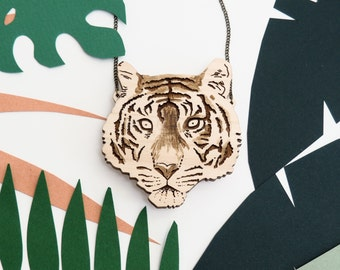 Tiger Necklace / Jacqueline Colley x Kate Rowland