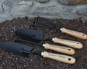 4 Piece Garden Tool Set, Personalized Garden Tools, Engraved Garden Tools, Garden Set, Mother's Day Gifts, Retirement Gifts, Christmas Gifts