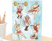 Oh Santa! - Greeting card - Sustainably Printed