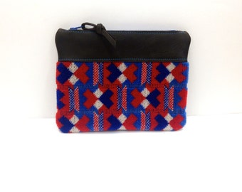 London Underground Genuine Victoria Line Moquette Purse