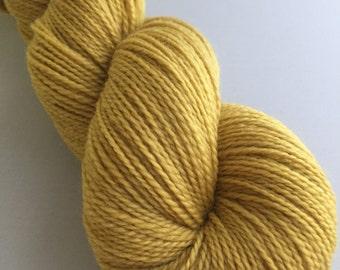 Delaware Sock-Goldenrod Natural Dye