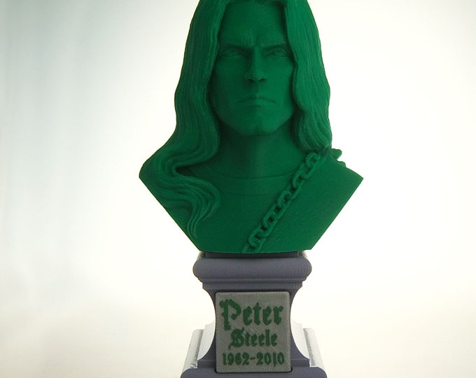 Type O Negative - Peter Steele Bust with Base (Green)