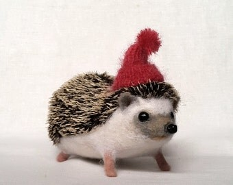 Hedgehog in the hat....I will make this item for your order