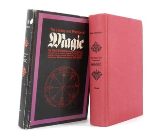 1969 History and Practice of Magic by Paul Christian Black Arts Book Witches and Warlocks