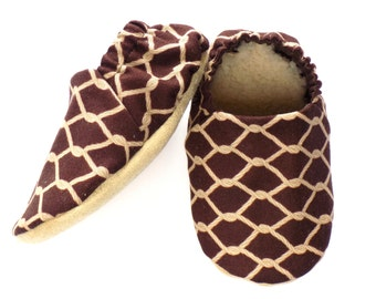 Cowboy Baby Boy Shoes, 6-12 mos. Baby Booties, Baby Soft Sole Shoes, Slip On Baby Shoes, Cowboy Ropes Shoes, Baby Boy Gift