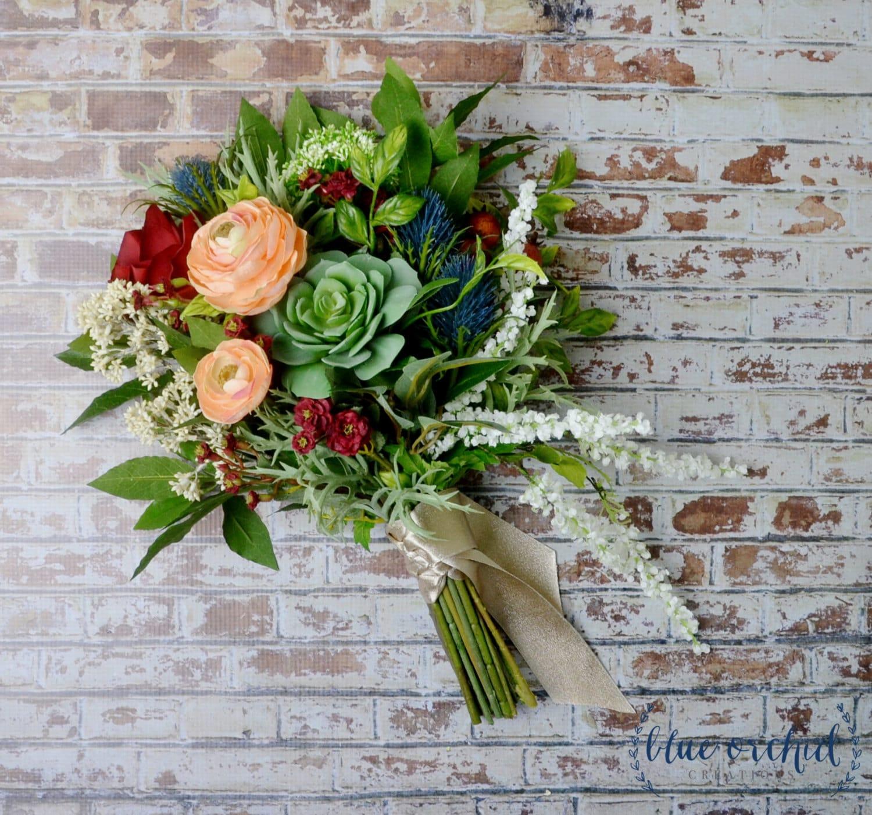Artificial Flower Wedding Bouquets: Wedding Bouquet Artificial Bouquet Silk Flower Bouquet