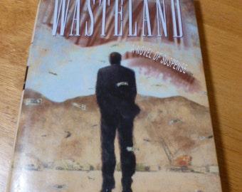Wasteland A Novel Of Suspense Peter McCabe HC 1994 A Novel Crime Fiction Free USA Shipping