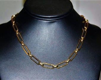 SALE! MONET Designer Couture High End Magnificent Choker Link Necklace ND6