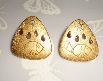 Nautical Style LCI LiZ Clairborne Earrings*