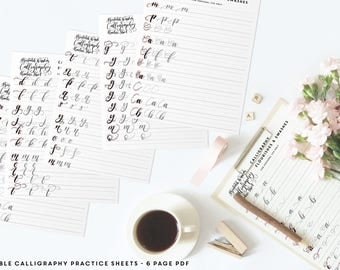 1st Grade Alphabet Worksheets Calligraphy Starter Kit Printable Wisdom Learn Calligraphy Myths And Legends Worksheets Word with Object And Subject Pronoun Worksheets Calligraphy Flourish Practice Sheets Learn Calligraphy Pdf Calligraphy  Practice Worksheet Printable Wisdom Font Calligraphy Kindergarten Syllable Worksheets