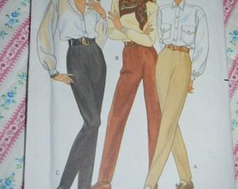 Butterick 4481 Misses/ Misses Petite Pants Sewing Pattern - UNCUT - Sizes 6 8 10