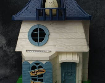 Weebles Haunted House with Glow In The Dark Ghost 1976