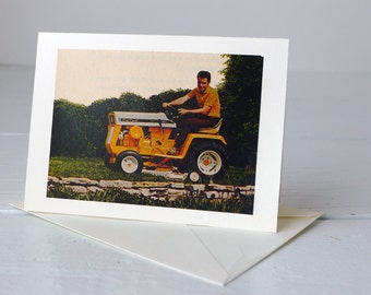 Handmade Vintage Card Father's Day Dad's Birthday