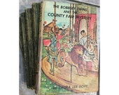 Vintage Bobbsey Twins Books by Laura Lee Hope - Classic Set of Five Titles - Great Condition- 1950's 1960's