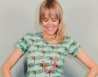 Sexy T-Shirt Palm Ahoy ladies retro pool shirt