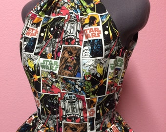 Vintage Style Star Wars Comic Covers Dress