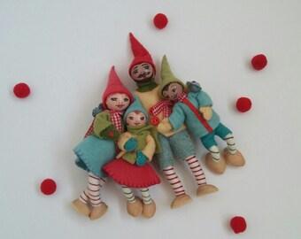 Knitting Pattern For Kindness Elves : Kindness elf Etsy