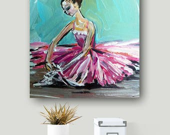 Ballerina Print, ballet art, ballerina art, little ballerina, ballerina print, dance print