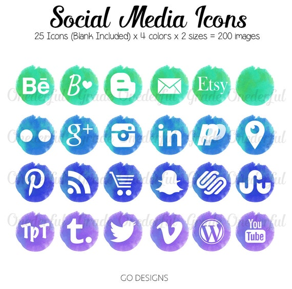 how to add social media icons to website