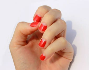 Poppy Avery Transparent Nail Wraps