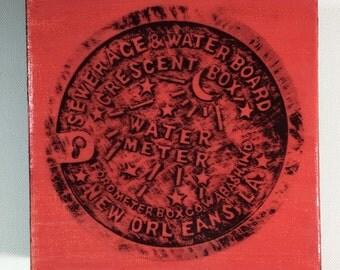 Water Meter Scarlet
