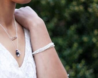 Clara - Multistrand Chain Bracelet in Gold or Silver