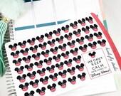 Countdown to Disney Stickers   Disney Countdown ECLP Stickers / Erin Condren Planner Days Until Disney Stickers / Disney Countdown