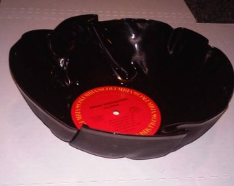 Bruce Springsteen Vinyl Record Bowl great for chips or popcorn Free Shipping