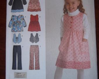 Simplicity 2874 Size 3-8