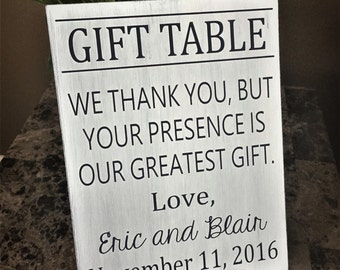 Wedding gift table sign, Nautical themed wedding, wedding decor, wedding sign, cards and gifts wedding sign, personalized