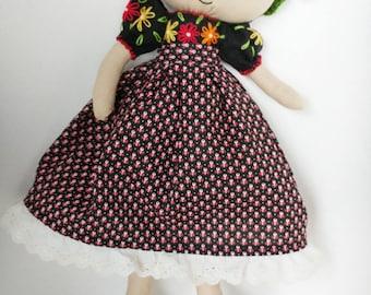 Frida Rag Doll