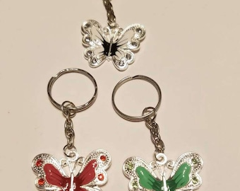 Big Beautiful Butterflies  Keychains