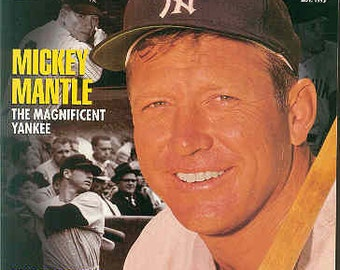 "Tuff Stuff Baseball Card Price Guide Magazine Nov 1995 With Mickey Mantle The Magnificent Yankee Exclusive Interview ""NEAR MINT"""