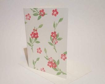 Spring Floral 2-in-1 Greeting Card & Print