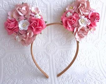 The Blush Minnie Garden Goddess Ears