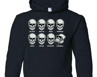 Skull shirt | Etsy