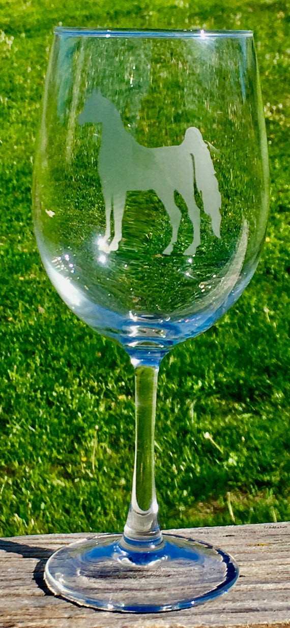 Arabian Horse, Wine Glass, Bridal Gift, Birthday Gift