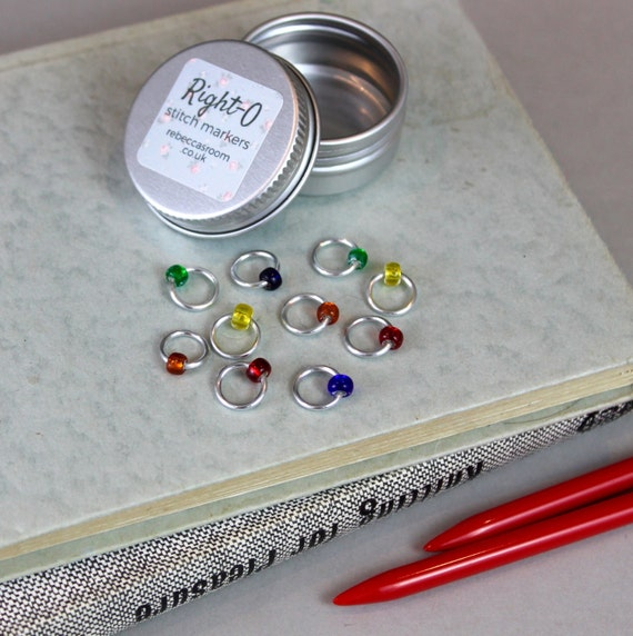 Knitting Supplies Uk : Items similar to stitch markers knitting supplies