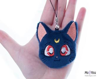 Luna Sailor Moon Plush charm