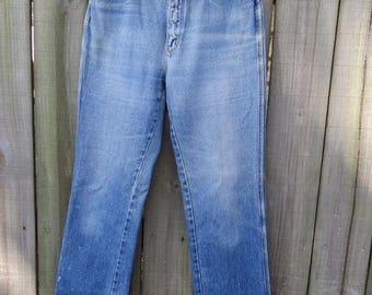 "Vintage Gloria Vanderbilt Jeans High Waist Sz 12 28"" Waist 32"" Length Mom Jeans"